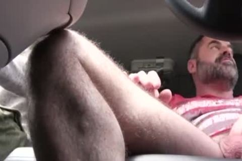 sexy dad hammers His Step Son In A Car - FAMI