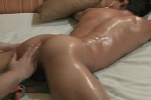 filthy homosexual boys Oily Massage