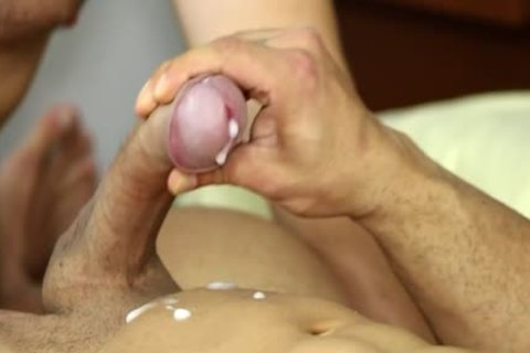 Muscle gay suck job And spooge flow