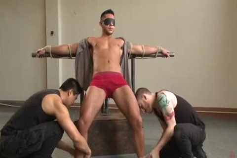 Muscle homosexual Foot Fetish With goo flow